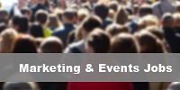 marketing and events jobs